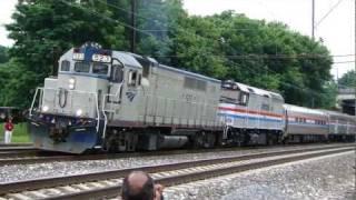 Amtrak Heritage Train Leaves Paradise