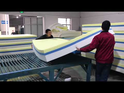 Memory Foam Mattress Production Process!