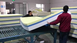 Memory Foam Mattress Production Process!