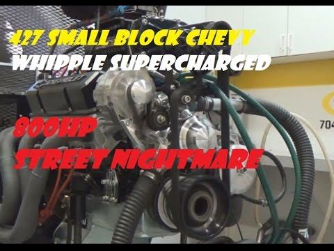 427 SBC WHIPPLE SUPERCHARGED 800HP/840TQ 1979 CAMARO STREET NIGHTMARE ADAM  GRIMM SUPERCHARGED SBC