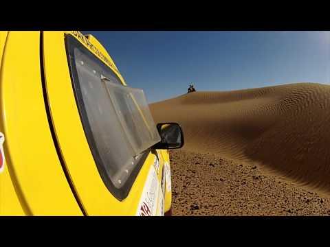 Drift HD Ghost: Equipo Dakar Café de Colombia en Marruecos