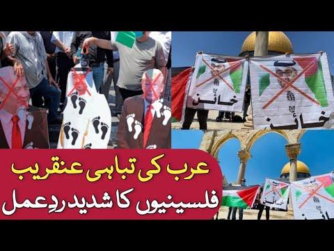 Download Palestine angry On UAE and Israel Deal #UAEisrael