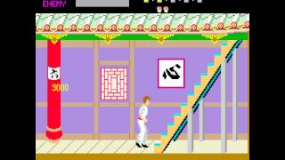 Kung-Fu Master Longplay (Arcade) [60 FPS]