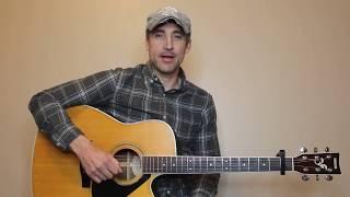 Marry Me - Thomas Rhett - Guitar Lesson | Tutorial
