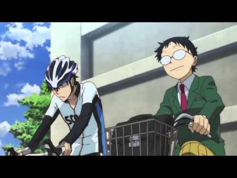 Клип по аниме Слабак Педальный (Yowamushi Pedal) Трусливый велосипадист