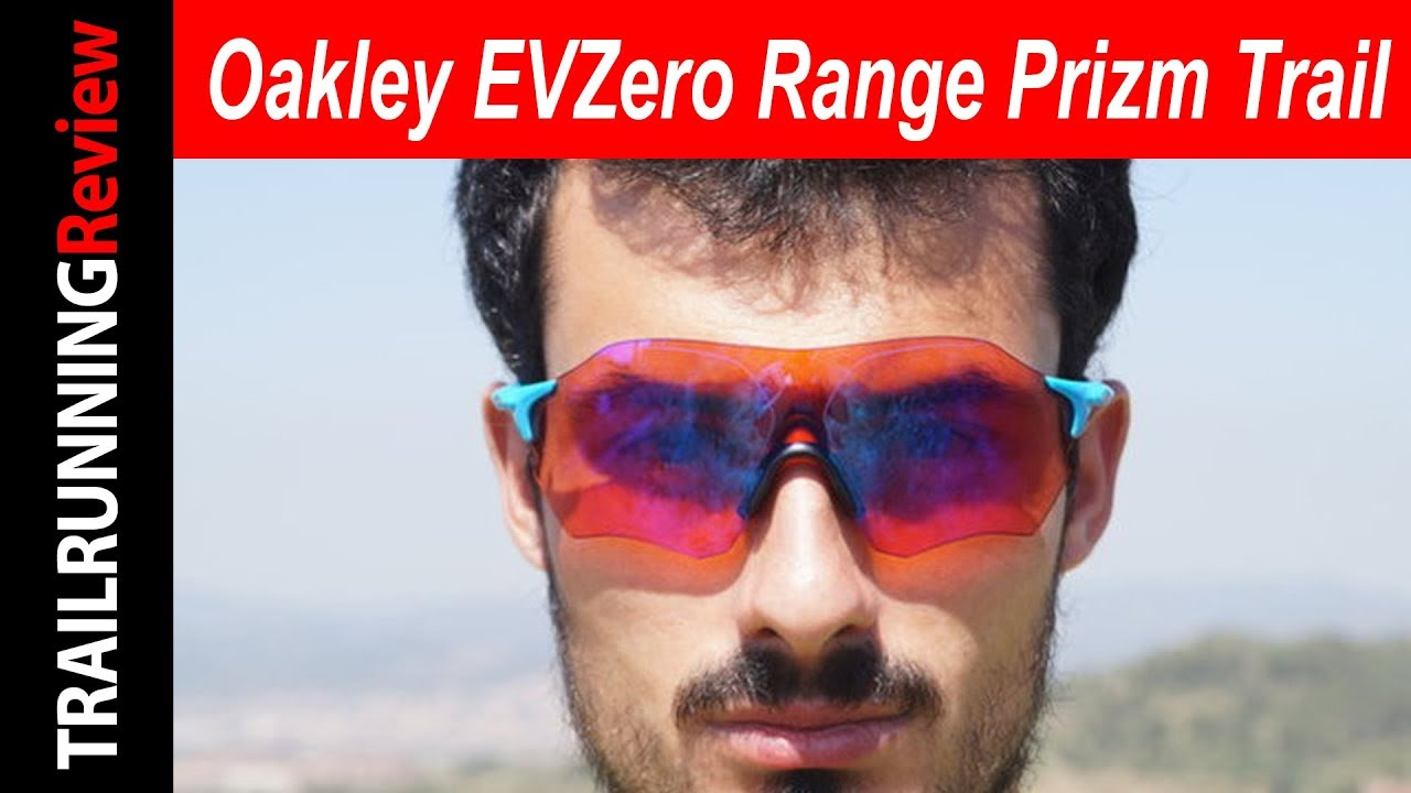 oakley range sunglasses  Oakley EVZero Range Prizm Trail Review - YouTube