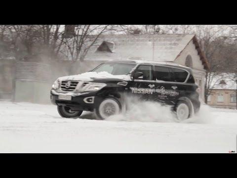 Тест Nissan Patrol 2015 (Новый Nissan Patrol от ТопЖЫр)
