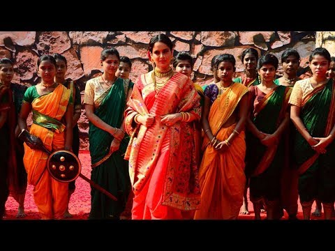 Kangana Ranaut POWER PACKED Grand Entry At Manikarnika Trailer Launch