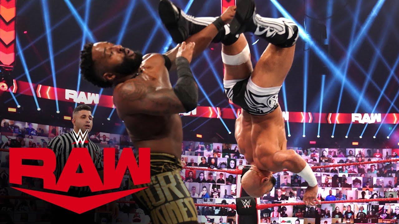 Ricochet vs. Cedric Alexander: Raw, Oct. 12, 2020