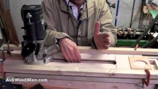 13 Of 23 • Wood Routers: How To Make A Jig To Route A Tapered Fluted Leg