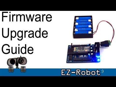 EZ-Robot Firmware Tutorial