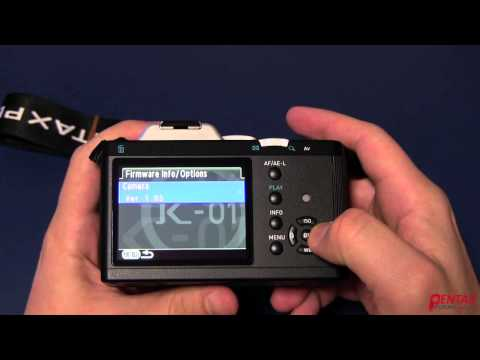 How To Upgrade Firmware In A Pentax DSLR
