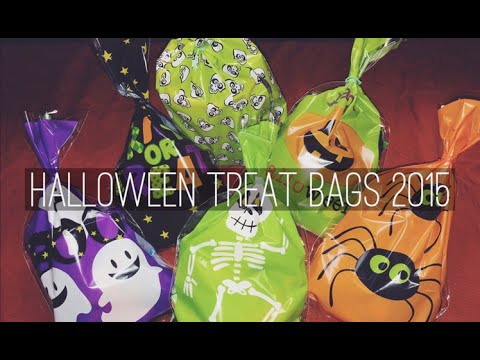 HALLOWEEN 2015 TREAT BAGS & A SURPRISE!
