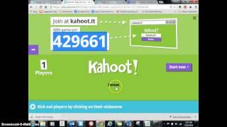 How to Make a Kahoot!