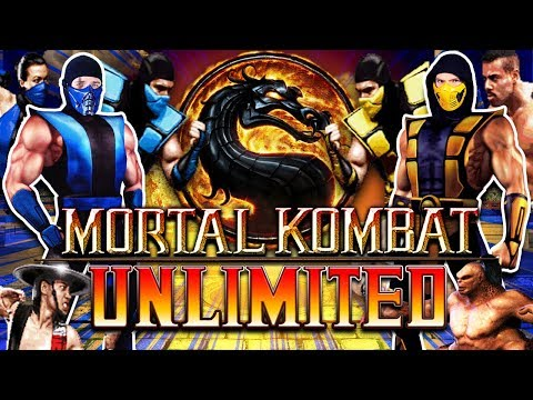 Scorpion & Sub-Zero Play - MORTAL KOMBAT UNLIMITED! (OPENBOR) | MKX GAMEPLAY PARODY! thumbnail