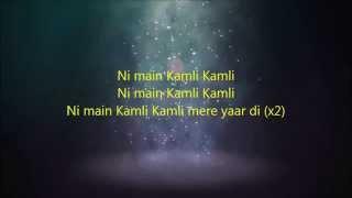 Gambar cover Kamli Kamli Dhoom 3 Full Song 2014 HD 1080p LYRICS
