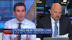 Jim Cramer: I think the stock market revisits and tests the lows from Christmas Eve 2018