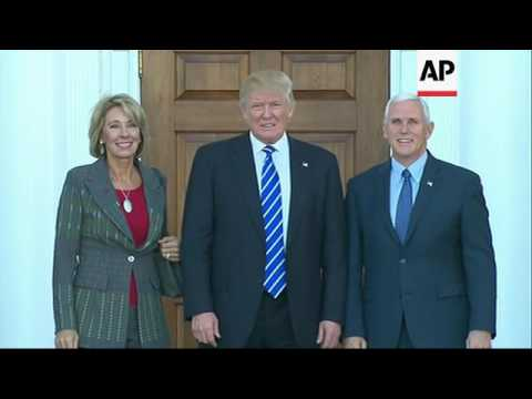 Raw: Trump Picks Charter School Backer DeVos
