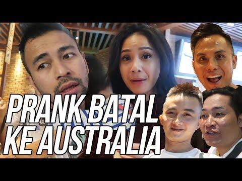 PRANK SESEN IWANG SAMPE NANGIS, BATAL AUSTRALIA, PASPOR RAFFI ILANG!!