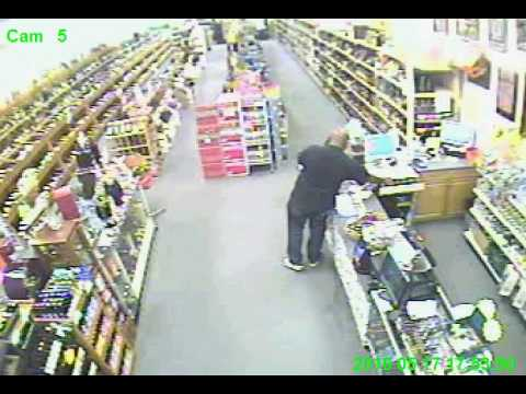 Liquor Store Robbery in Newark, NY