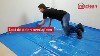 Leginstructie Isoboard Groene ondervloer Plaat 7 mm met vochtscherm - Online Vloeren Specialist