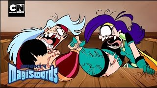 Mighty Magiswords | Arm Wrestling | Cartoon Network