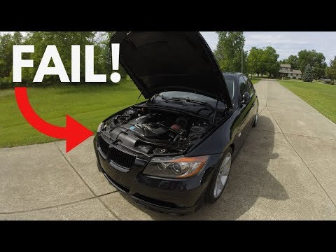 BMW N54 Part FAILURE At 151,000 miles!