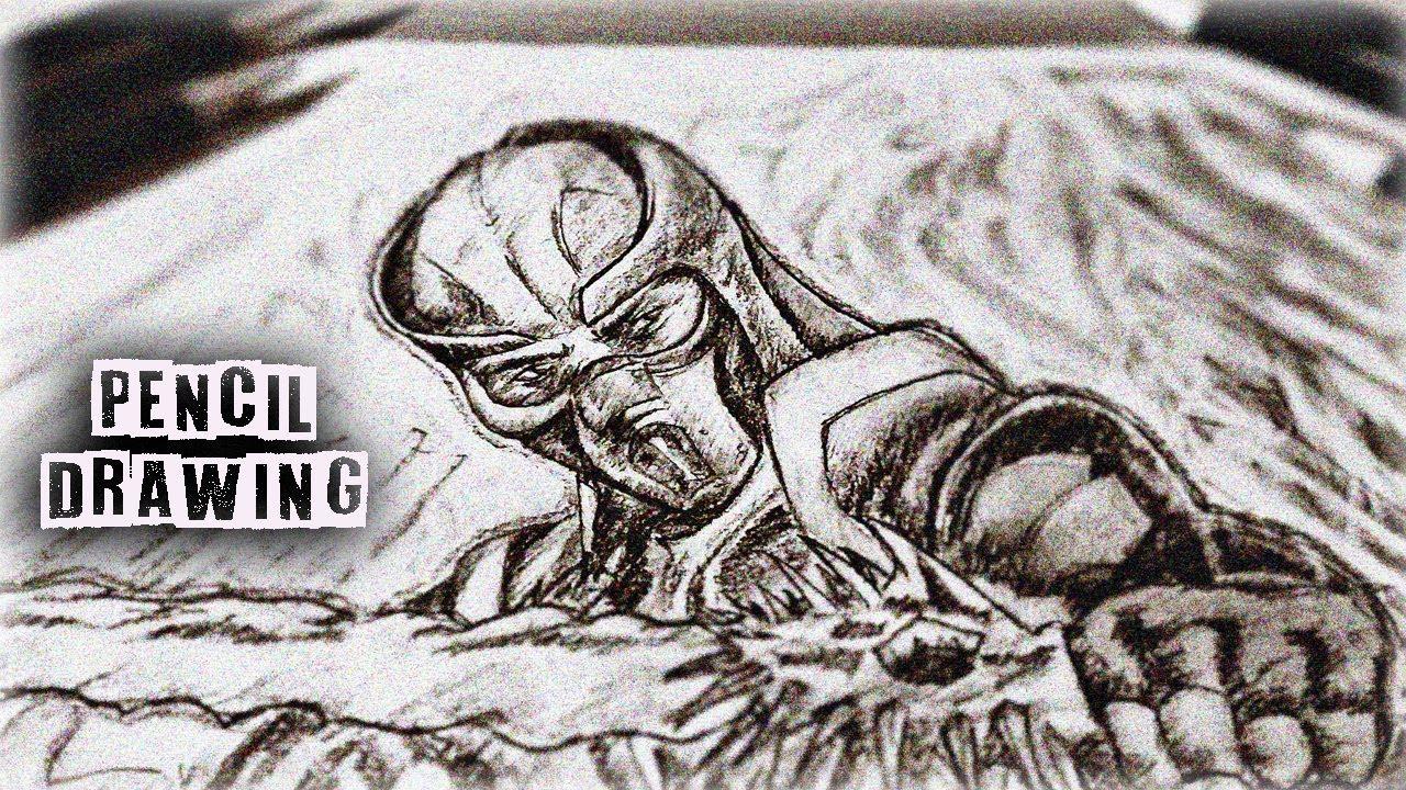 Pencil Drawing Sub Zero Mortal Kombat 11 Mk11 Youtube