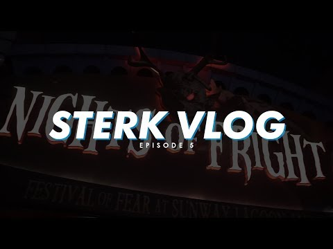 Sterk Vlog | Episode 5: Mimpi Ngeri Di Nights Of Fright 6