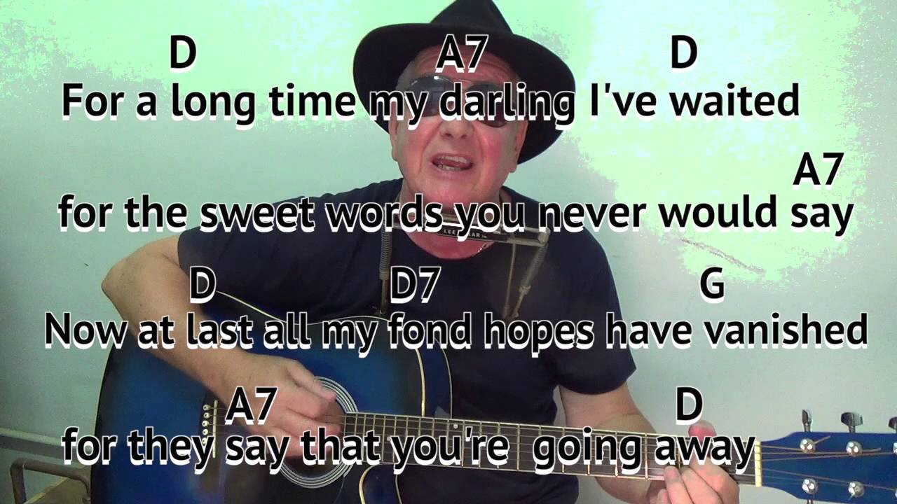 Red River Valley D Acoustic Cover Easy Chords Guitar Lesson