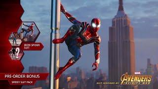 Marvel's Spider-Man Pre-Order Bonus for Iron Spider Suit