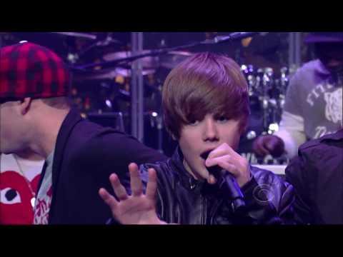 Justin Bieber - Baby HD 1080p  Live on (David Letterman)