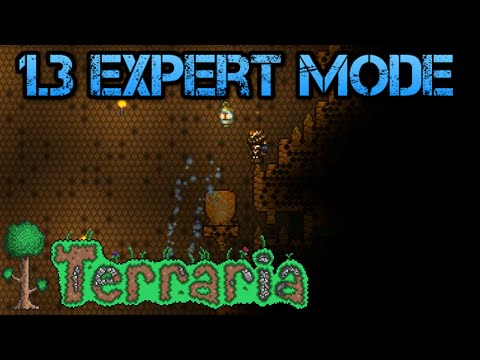 [19] Terraria 1.3 Expert Mode | Hunting For Hives (Let's Play)