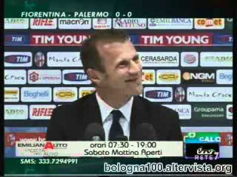Bologna FC 1909 – Cagliari 1-0 12/04/2012 Murelli in sala stampa