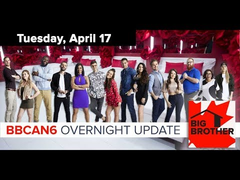 Big Brother Canada 6  April 17, 2018  Overnight Update Podcast