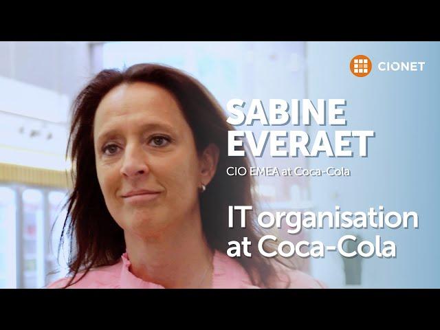 Sabine Everaet, CIO EMEA at Coca-Cola – How IT is managed at Coca-Cola