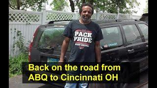 Exhaust support, I-40 travel, Queen size mattress haul to Cincinnati OH - howr