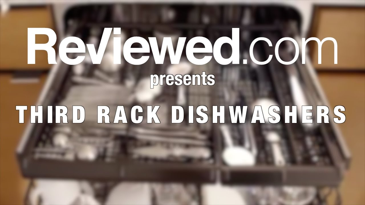 the benefits and disadvantages of a third rack dishwasher - youtube