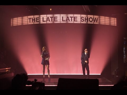 Linkin Park ft Kiiara  at The Late Late Show performing Heavy