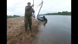 Рыбалка на фидер на реке Вятка 2020 Конец августа