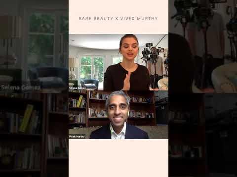 Selena Gomez Mental Health Social Summit with Dr Vivek Murthy for Rare Beauty