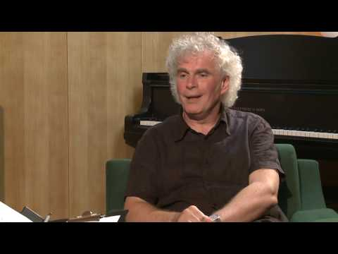 Sir Simon Rattle in Conversation - Part I