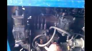 Робота двигателя МТЗ-80