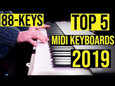 Best 88-Key Weighted MIDI Keyboard Controllers in 2019