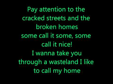 Green Day - Welcome To Paradise Lyrics