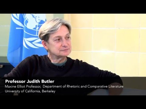 UNU-GCM Interview with Professor Judith Butler