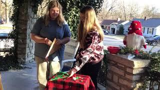 Eric's Good Cheer Project 25 Yarn Christmas Trees