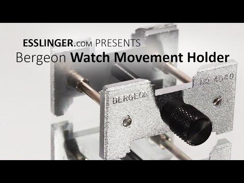 Bergeon Watch Movement Holder 4040