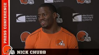 Video Nick Chubb: The guys up front make my job a lot easier   Cleveland Browns download MP3, 3GP, MP4, WEBM, AVI, FLV Oktober 2018