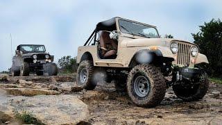 Jeep CJ7 Offroad - Marble Falls 2015